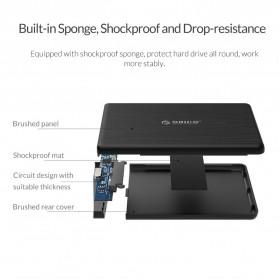 ORICO 2.5 inch USB Type C 3.1 HDD Enclosure - 2578C3-G2 - Black - 9