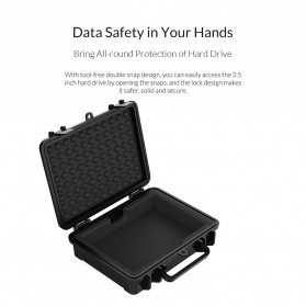 Orico 1-Bay 3.5 Inch HDD Protection Case - PHF-35 - Black - 10