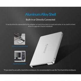 Orico HDD Enclosure M.2 NGFF MSATA USB 3.0 - MS2TS - Silver - 8