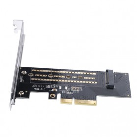 Orico M.2 NVME to PCI-E 3.0 X4 Expansion Card - PSM2 - Black - 3