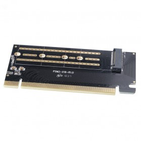 Orico M.2 NVME to PCI-E 3.0 X16 Expansion Card - PSM2-X16 - Black