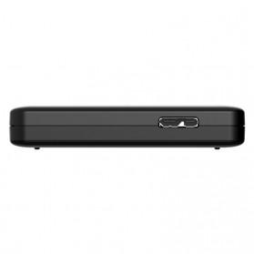 Orico 1-Bay 2.5 Inch HDD Enclosure SATA 2 USB 3.0 with HDD 500GB - Black - 2