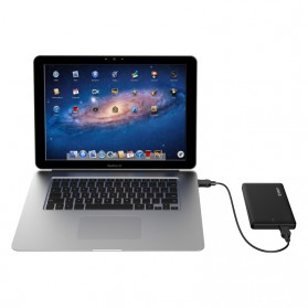 Orico 1-Bay 2.5 Inch HDD Enclosure SATA 2 USB 3.0 with HDD 500GB - Black - 3
