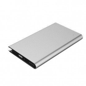 ORICO HDD SSD Enclosure 2.5 inch USB3.0 with Built-in Cable - 2667U3 - Silver - 4