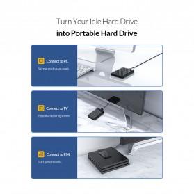 Orico 2.5 Inch External HDD Enclosure USB 3.0 - 2520U3 - Black - 3