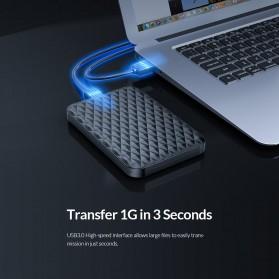 Orico 2.5 Inch External HDD Enclosure USB 3.0 - 2520U3 - Black - 4