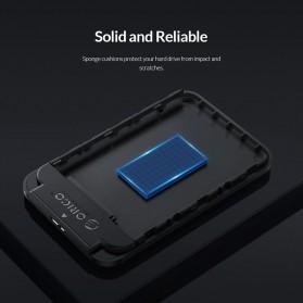 Orico 2.5 Inch External HDD Enclosure USB 3.0 - 2520U3 - Black - 8