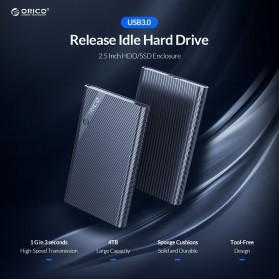 Orico 2.5 Inch External HDD Enclosure USB 3.0 - 2521U3 - Black - 2