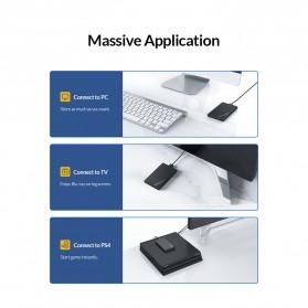 Orico 2.5 Inch External HDD Enclosure USB 3.0 - 2521U3 - Black - 6