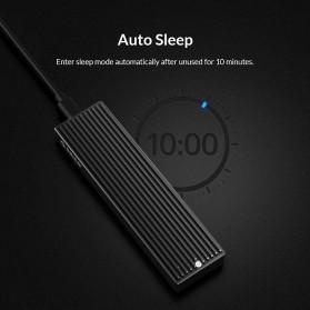 Orico Adaptor Enclosure NVMe M.2 SSD to USB 3.1 Type C - M2PV-C3 - Black - 7