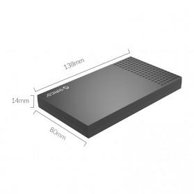 Orico SSD HDD Enclosure 2.5 inch USB Type C 3.1 - 2526C3 - Black - 5