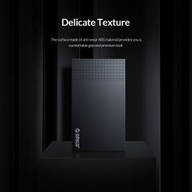 Orico SSD HDD Enclosure 2.5 inch USB Type C 3.1 - 2526C3 - Black - 7