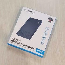 Orico SSD HDD Enclosure 2.5 inch USB Type C 3.1 - 2526C3 - Black - 11