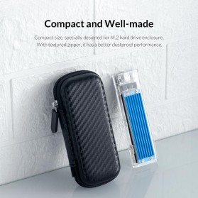 Orico EVA Shockproof Case Eksternal SSD NVME M.2 Hard Drive - M2PH01 - Black - 4