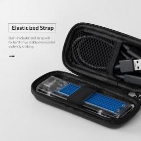 Orico EVA Shockproof Case Eksternal SSD NVME M.2 Hard Drive - M2PH01 - Black - 6