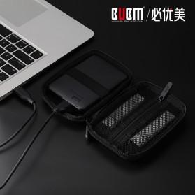 BUBM HDD Protection Case Bag 2.5 Inch - ERD-S (ORIGINAL) - Black - 2