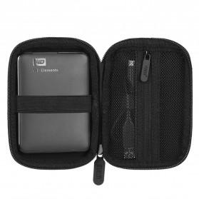 BUBM HDD Protection Case Bag 2.5 Inch - ERD-S (ORIGINAL) - Black - 3