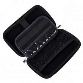 BUBM HDD Case Bag Protection Organizer Multifunction - GH1301 - Black - 9