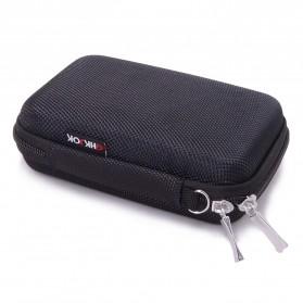 BUBM GHKJOK HDD Case Bag Protection Organizer Multifunction - GH1329 - Black - 1