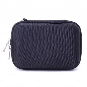 BUBM GHKJOK HDD Case Bag Protection Organizer Multifunction - GH1329 - Black - 2