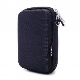 BUBM GHKJOK HDD Case Bag Protection Organizer Multifunction - GH1329 - Black - 4