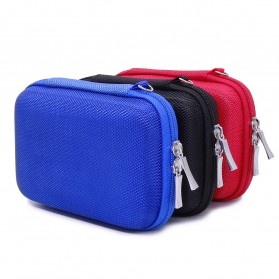BUBM GHKJOK HDD Case Bag Protection Organizer Multifunction - GH1329 - Black - 5