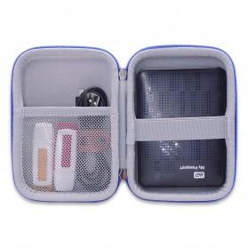 BUBM GHKJOK HDD Case Bag Protection Organizer Multifunction - GH1329 - Black - 7