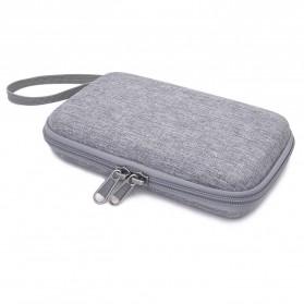 BUBM GHKJOK HDD Power Bank Case Bag Protection Organizer Multifunction - GH1367 - Gray