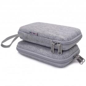 BUBM GHKJOK HDD Power Bank Case Bag Protection Organizer Multifunction - GH1367 - Gray - 5