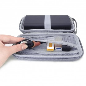 BUBM GHKJOK HDD Power Bank Case Bag Protection Organizer Multifunction - GH1367 - Gray - 6