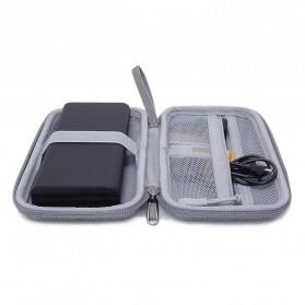 BUBM GHKJOK HDD Power Bank Case Bag Protection Organizer Multifunction - GH1367 - Gray - 7