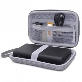 BUBM GHKJOK HDD Power Bank Case Bag Protection Organizer Multifunction - GH1367 - Gray - 8