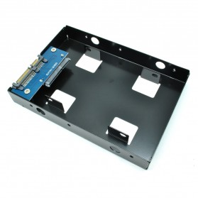 Internal HDD / SSD 2.5 Inch to 3.5 Inch Enclosure - Black