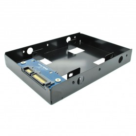 Internal HDD / SSD 2.5 Inch to 3.5 Inch Enclosure - Black - 3