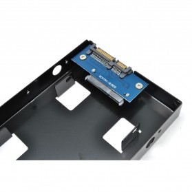 Internal HDD / SSD 2.5 Inch to 3.5 Inch Enclosure - Black - 4