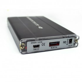 Hard Disk Case External 2.5 Inch USB 2.0 SATA Port - 205A U2S