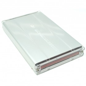 Hard Disk Case External 2.5 Inch USB 2.0 SATA Port - 205A U2S - Silver - 2
