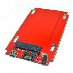 Hard Disk Case External 2.5 Inch USB 2.0 SATA Port - 205A U2S - Silver - 4