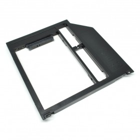 Universal 2nd Hard Disk Drive Caddy For Laptop 9mm SATA3 to SATA3 for OptiBay-3 MacBook Pro