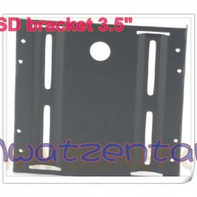 SSD Mounting Bracket 2.5 Inch to 3.5 Inch - Black - 2