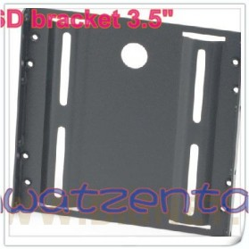 SSD Mounting Bracket 2.5 Inch to 3.5 Inch - Black - 3