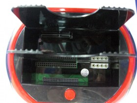 Two 2.5 / 3.5 SATA + IDE HDD Dock with Card Reader