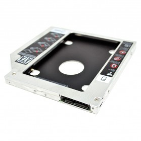 Universal 2nd Hard Disk Drive Caddy For Laptop 9.5mm SATA to SATA - 2