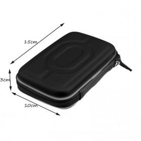 Shockproof HDD Protection Bag 2.5 Inch - H96 - Black - 5