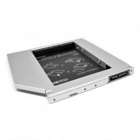 CHIPAL 2nd Hard Disk Drive Caddy Laptop 9.5mm SATA to SATA - MKT122-DB - 4