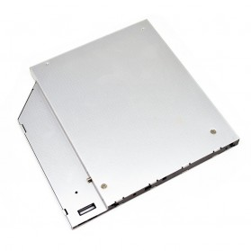 CHIPAL 2nd Hard Disk Drive Caddy Laptop 9.5mm SATA to SATA - MKT122-DB - 5