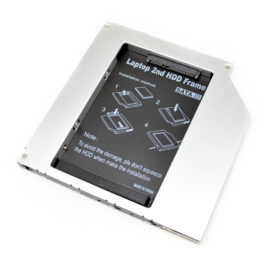 Universal 2nd Hard Disk Drive Caddy Laptop 95mm Sata To Orico 1 Bay 25 Inch External Hdd Enclosure 2 Usb 30 2599us3 V1 Casing Hardisk