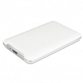 MACALLY HDD Enclosure Case 2.5 Inch USB 3.0 - S250U3 - White