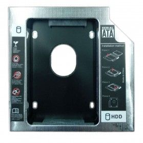 Universal 2.5 inch HDD Caddy 12.7mm SATA to SATA - TSR122