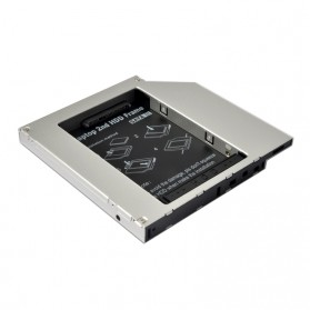 Universal 2.5 inch HDD Caddy 12.7mm SATA to SATA 3 - 2